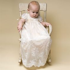 Louisa Christening Gown (Girl) | Cotton Baptism Outfits & Dresses - Designer Gowns & Dresses