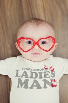 14 Adorable Kid Photo Shoot Ideas for Valentine's Day via Brit + Co