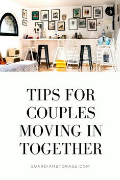 tips & advice for couples moving in together for the first time - how to share your space Couples First Apartment, First Apartment Checklist, My First Apartment, Small Apartment Living, Studio Apartment Decorating, Apartment Interior, Living Spaces, Studio Apartment Layout, Small Studio Apartments