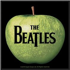 The Beatles Standard Patch: Apple & Logo
