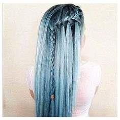 33 trendy ombre hair color ideas of 2019 - Hairstyles Trends Cute Hair Colors, Cool Hair Color, Hair Colours, Silver Hair Colors, Coloured Hair, Dye My Hair, Pastel Hair, Mermaid Hair, Gorgeous Hair
