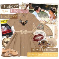 I Believe, I Believe, I Believe Outfit Idea 2017