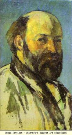 Paul Cézanne. Self-Portrait. Olga's Gallery.