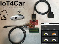 MKR WiFi 1000 talks to a car through OBD-II interface, and uploads the data to IoT cloud for real-time monitoring and post-processing. Find this and other hardware projects on Hackster. Diy Electronics, Electronics Projects, Toyota Tundra Trd, Esp8266 Wifi, Arduino Projects, Diy Car, Linux, Cloud, Tech