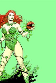 kickassdcladies:   Poison Ivy in New Talent... • Fuck Yeah Batman Villains! #comicart