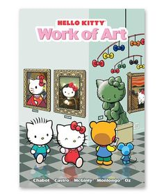 Look at this #zulilyfind! Hello Kitty: Work of Art Paperback #zulilyfinds