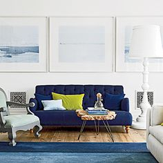 Pick the Perfect Living Room Color Palette - Coastal Living