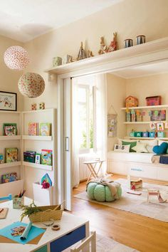 Children play room.
