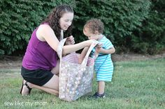 The Polly Tote - Sew Like My Mom