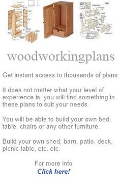 Woodworking: Wood Working Plans for Beginners