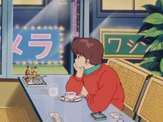 Shared by 𝓕𝓮𝓭𝓮. Find images and videos about aesthetic, anime and retro on We Heart It - the app to get lost in what you love. Japanese Aesthetic, Retro Aesthetic, Aesthetic Anime, Manga Art, Manga Anime, Anime Art, Anime Gifs, Pinturas Disney, Japon Illustration