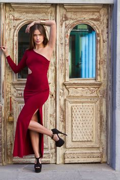 #dress #red #fashion #style