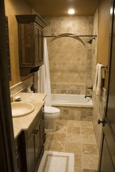 Small Tuscan Bathroom Tuscan Decor Pinterest The O