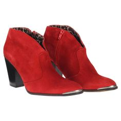 Cubala Suede Bootie Red by MTNG
