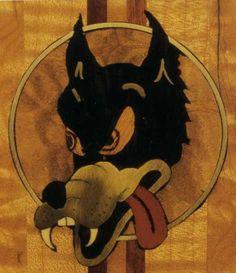 Inlay on J Garcia's 'Wolf' by Doug Irwin.