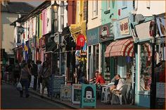 Brighton, England. the Lanes. There are places in this rabbit warren of shops where you can almost touch both sides of the street with your arms outstretched.