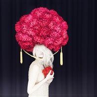 "Vogue Photo: ""dream sequence - flower head"" Madame Peripetie"