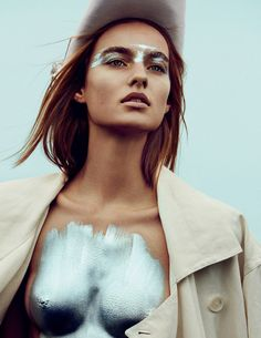 Vogue Russia April 2016 Maartje Verhoef by Txema Yeste-2 #editorials #style…