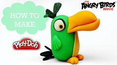 The Angry Birds Movie - Play Doh Making Hal the Boomerang Bird