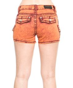 This Sun Blast Wash Shorts by Rose Royce is perfect! #zulilyfinds