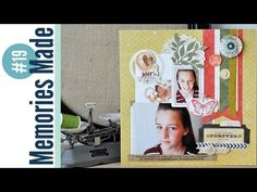 Memories Made #19 Scrapbooking Process Video: I Will Always Love You - YouTube