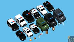 Low Poly Police Car Pack has just been added to GameDev Market! Check it out: http://ift.tt/1UXJyPh #gamedev #indiedev