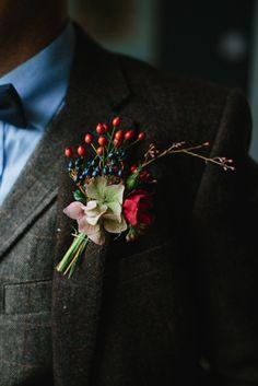 Aimee & Joel's Godwick Great Barn Wedding Wedding Venues Scotland, Wedding Venues Uk, Our Wedding, Button Holes Wedding, Winter Bouquet, Space Wedding, Elopement Inspiration, Scottish Highlands, Red And Blue