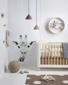 "183 Likes, 7 Comments - Homes to Love NZ (@homestolovenz) on Instagram: ""An animal-print nursery from @yourhomeandgarden that's a lesson in calming tones. Get the look on…"""