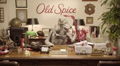 Old Spice Wolfdog in Charge of Marketing | The Inspiration Room