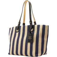Dooney & Bourke: Linen Large East/West Grommet Shopper