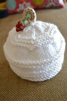 Hello Baby Hat - Free Pattern (newborn to 3 months)