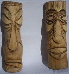 Máscaras En Madera - $ 120,00 en MercadoLibre