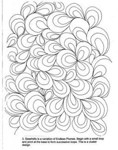Free Motion Machine Quilting Designs - and more. A pdf to download. by ashleyw