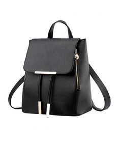 d8746f5e9dcf Fashion Shoulder Bag Rucksack PU Leather Women Girls Ladies Backpack Travel  Bag - C9183R50CXS