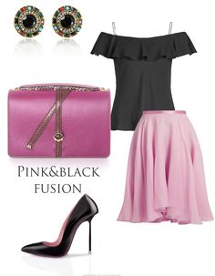 We simply adore the fuchsia color whether we choose an intense shade or a more delicate one! This summer it's all about dynamic chromatic, floral prints and feminine precious clothing items. Pair your suave flowing skirt with an off-the-shoulder top and a luxury leather bag colored in fuchsia!