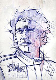 Unique Ballpoint Pen Portraits Of Celebrities And Athletes - DesignTAXI.com