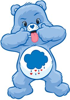 Welcome to Care-A-Lot, that little place in the clouds where the Care Bear family resides. Here you can find gifs, artwork both old and new, the music of Care-A-Lot, and random trivia about the Care Bears and Care Bear Cousins. Care Bears, Care Bear Birthday, Care Bear Party, Bear Wallpaper, Cartoon Wallpaper, Grumpy Care Bear, Grumpy Cat, Care Bear Tattoos, Old Cartoons