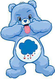 Grumpy Bear at his best! Lol!