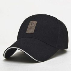 67221d3200d EDIKO And Golf Logo Cotton Baseball Cap Sports Golf Snapback Outdoor Simple  Solid Hats For Men