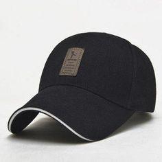 EDIKO And Golf Logo Cotton Baseball Cap Sports Golf Snapback Outdoor Simple  Solid Hats For Men Bone Gorras Casquette Chapeu 25502c9dae4
