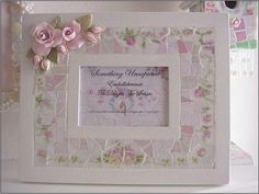 china mosaic inlay frame rose garland1 by Enchanted Rose Studio, via Flickr