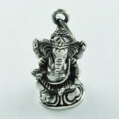 LORD GANESHA DESIGN 925 SOLID STERLING SILVER PENDANT #SilvexImagesIndiaPvtLtd #Pendant