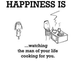 Who doesn't  luv a man that can cook??.