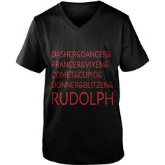 Christmas the nine reindeers Womens T-Shirts  #gift #ideas #Popular #Everything #Videos #Shop #Animals #pets #Architecture #Art #Cars #motorcycles #Celebrities #DIY #crafts #Design #Education #Entertainment #Food #drink #Gardening #Geek #Hair #beauty #Health #fitness #History #Holidays #events #Home decor #Humor #Illustrations #posters #Kids #parenting #Men #Outdoors #Photography #Products #Quotes #Science #nature #Sports #Tattoos #Technology #Travel #Weddings #Women