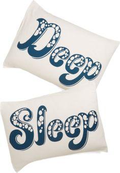 ModCloth Nautical Deep Blue Sleep pillowcase set