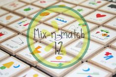 Chore List --Mix-n-match 12 by cucumberlime on Etsy, $12.00