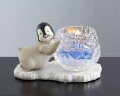 penguin candle