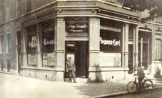 1905 Rotterdam Noorder cafe (cafe de Bel) G. Scholtenstraat