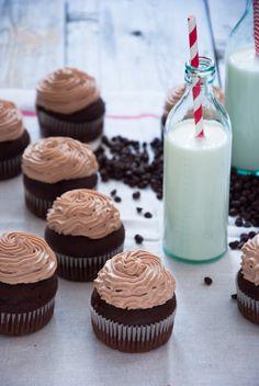 Chocolate Whipped Cream Cupcakes - Sweeter Life Club