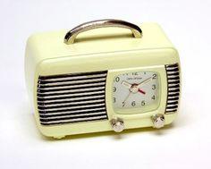 1950s Clock Radios | Pinned by Jenni Burke